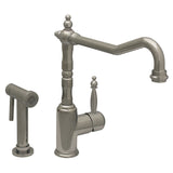 Whitehaus Kitchen Faucet With Traditional Swivel Spout - WH2070800
