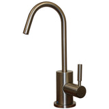 Whitehaus Brass Deck Mount Kitchen Drinking Water Dispenser - Brushed Nickel WHFH-C1403-BN