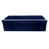 "36"" Fireclay Farmhouse Sink, Single Bowl, Whitehaus, WHQ536"