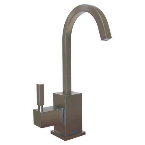 Whitehaus Modern Deck Mount Kitchen Drinking Water Dispenser - Brushed Nickel WHSQ-C003-BN