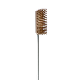 "Alfa Pro 47"" Brass Oven Brush - Real Pizza Ovens"