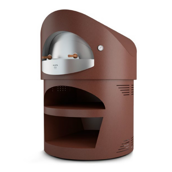 Alfa Pro Indoor/Outdoor Professional Pizza Oven Giotto - Wood Fired - Real Pizza Ovens