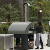 Alfa Pro Indoor/Outdoor Professional Pizza Oven Opera - Wood Fired - Real Pizza Ovens