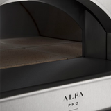 Alfa Pro Indoor/Outdoor Professional Pizza Oven Quattro Pro Top - Wood Fired - Real Pizza Ovens