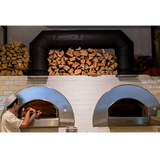 Alfa Pro Indoor/Outdoor Professional Pizza Oven Quick- Wood Fired - Real Pizza Ovens