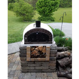 Authentic Brick Wood Fire Pizza Oven Brazza - Real Pizza Ovens