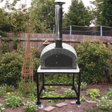 Brazza - Wood Fired Outdoor Pizza Oven, Authentic Italian Style - Showroom Sinks
