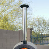 Authentic Wood Fired Pizza Oven Chimney & Cap - Showroom Sinks