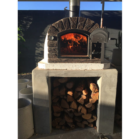 ... Authentic Brick Wood Fire Pizza Oven Famosi   Real Pizza Ovens ...