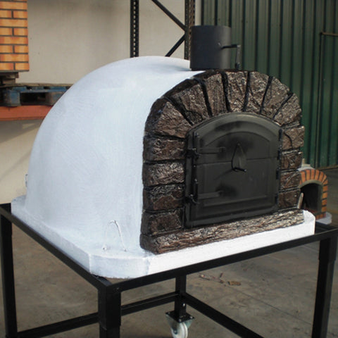 Authentic Brick Wood Fire Pizza Oven Famosi - Real Pizza Ovens