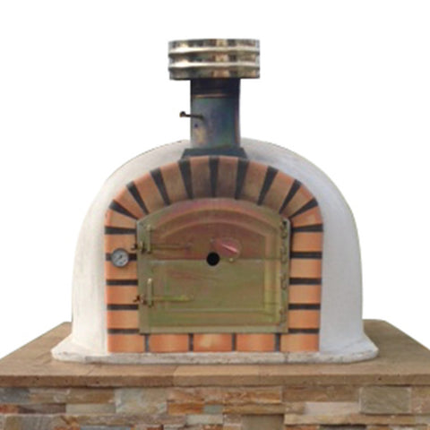Authentic Brick Wood Fire Pizza Oven Lisboa - Real Pizza Ovens