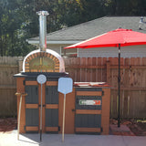 Authentic Brick Wood Fire Pizza Oven Pizzaioli - Real Pizza Ovens