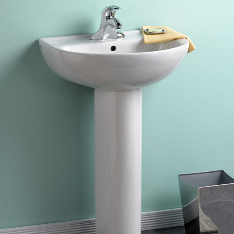 "Bathroom Pedestal Sink, 24"", Evolution, American Standard, 0468.400 - Showroom Sinks"