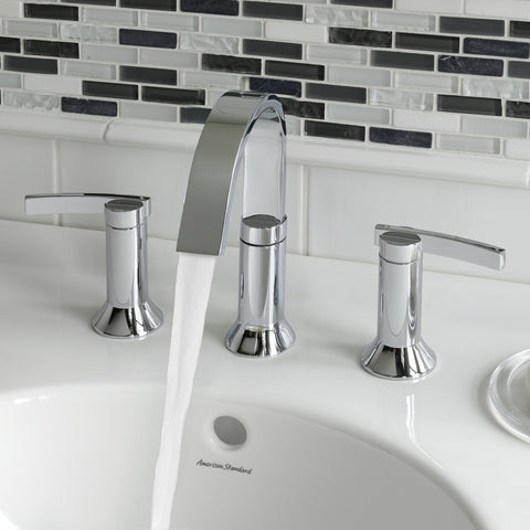 American Standard Berwick 2-Handle Widespread Bathroom Faucet, 7430.801 - Showroom Sinks