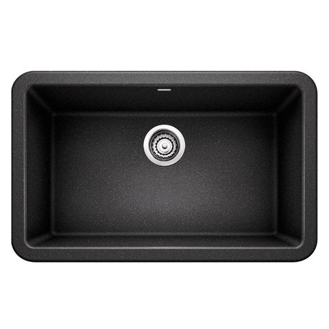 "Blanco Ikon 30"" Apron Front Granite Composite Sink In Silgranit PuraDur - Showroom Sinks"