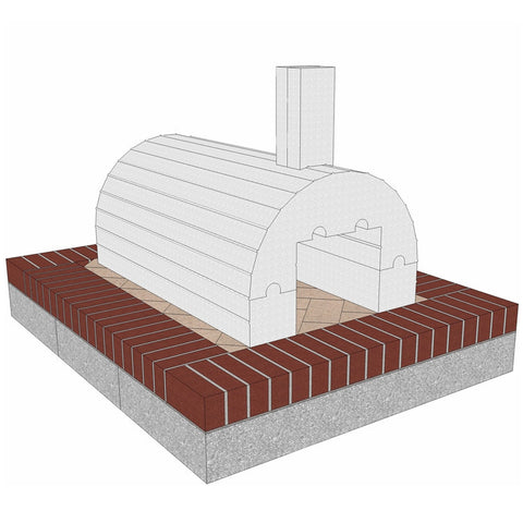 BrickWood Ovens Mattone Barile Grande Basic Package - Real Pizza Ovens
