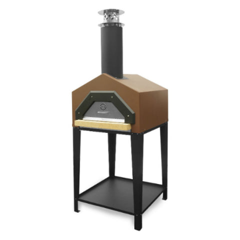 Chicago Brick Oven Americano Wood Fired Pizza Oven With Stand - Real Pizza Ovens
