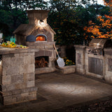 Built In Pizza Oven, Wood Fired, Modular, Chicago Brick Oven - CBO-1000 BUNDLE - Showroom Sinks