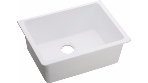 "Elkay Undermount Sink, Quartz Classic, 25"", Single Bowl, ELGU2522"