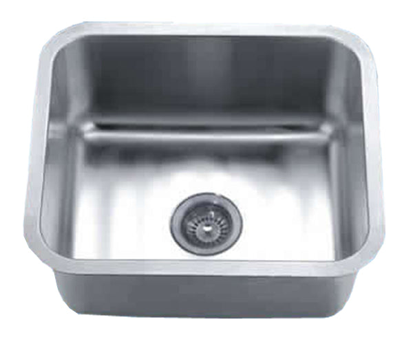 "Dawn 21-1/16"" Stainless Steel Undermount Sink, Single Bowl, DSU1916"