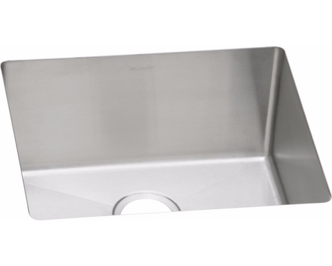 "Elkay Crosstown 16 Gauge Stainless Steel 21-1/2"" x 18-1/2"" x 10"", Single Bowl Undermount Sink, EFRU191610"