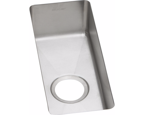 "Elkay Crosstown 16 Gauge Stainless Steel 10"", Single Bowl Undermount Sink, EFRU718"