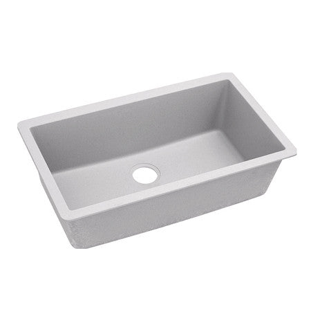 "Elkay Undermount Sink, Quartz Classic, 33"", Single Bowl, ELGRU13322"