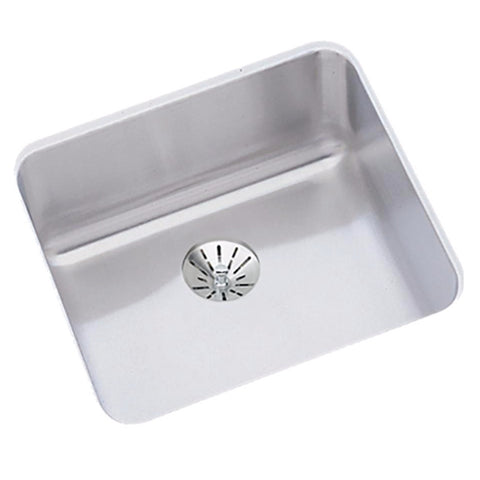 "Stainless Steel Bar Sink, 14 1/2"", Lustertone, Elkay, ELUHAD121255PD"