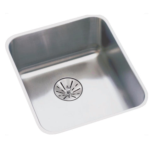 "Stainless Steel Bar Sink Kit, 14"", Lustertone, Elkay, ELUHAD111655PD"