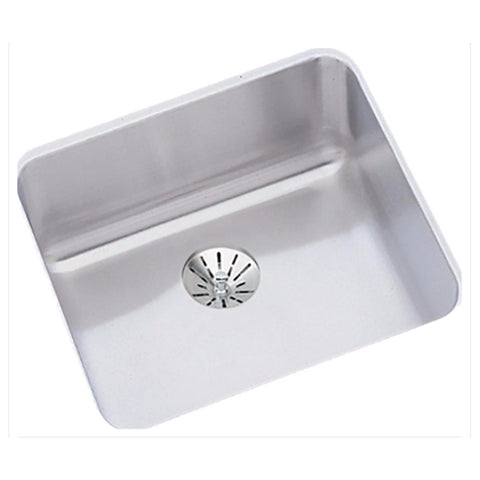 "Stainless Steel Bar Sink, 14 1/2"", Lustertone, Elkay, ELUH1212PD"