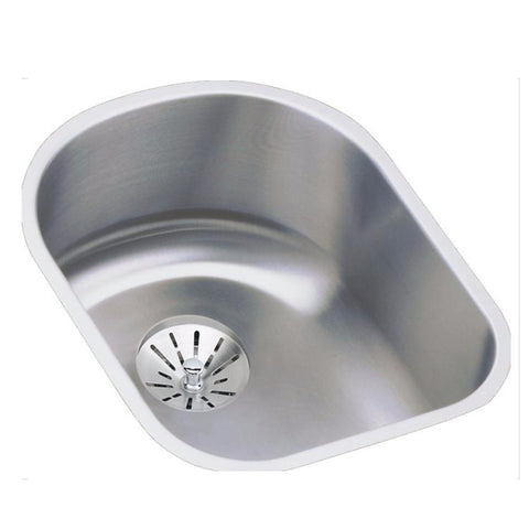 "Stainless Steel Bar Sink Kit, 14"", Lustertone, Elkay, ELUH1317PD"