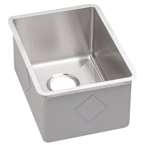 "Stainless Steel Bar Sink, 13 1/2"", Crosstown, Elkay, ECTRU12179"