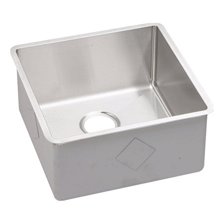 "Stainless Steel Undermount Sink, 18 1/2"", Single Bowl, Elkay, ECTRU17179"