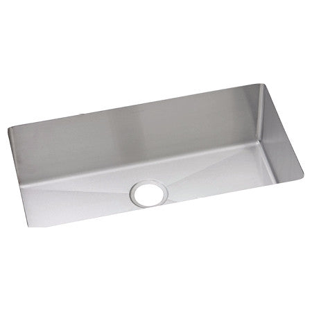 "Stainless Steel Undermount Sink, 32 1/2"", Single Bowl, Elkay, EFRU311610"