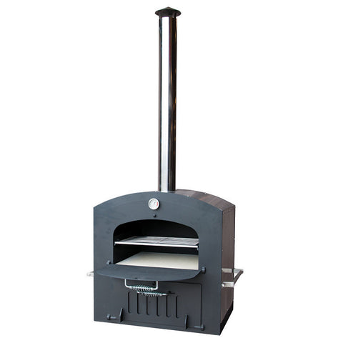 Tuscan Chef Built-In Deluxe Family Wood Fired Pizza Oven - GX-CM - Real Pizza Ovens