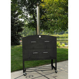 Tuscan Chef Large Wood Fired Pizza Oven With Cart - GX-D1 - Real Pizza Ovens