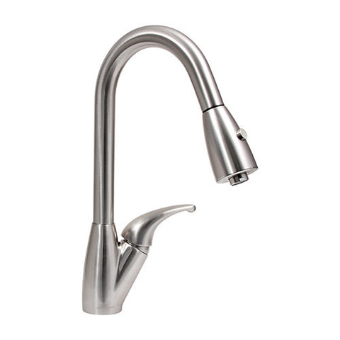 Dyconn Venta - Contemporary Pull-Out Kitchen Faucet - Polished Chrome PLK485-BN