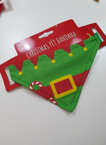 Pet Bandana - Christmas Themed