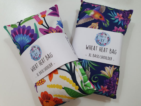 Wheat Heat Bags - Back