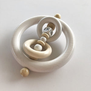 Mini Grasp Ring - Elsie Rattle