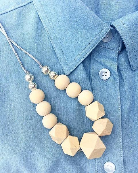 Jagger Wooden Nursing Necklace