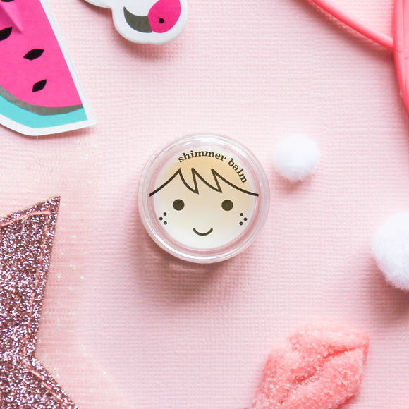 Pretty Play Makeup Shimmery Lip Balm