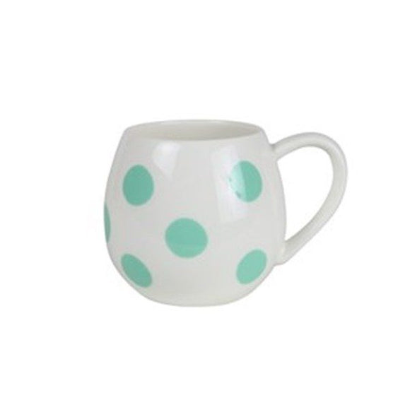 Mini Hug Mug - Green Spot
