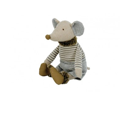 Knitted Ratsy Plush Toy - Boy