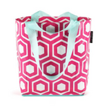 Pink Honeycomb Tote - smaller
