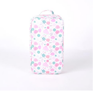 Floral Cooler Bag with Ice Brick
