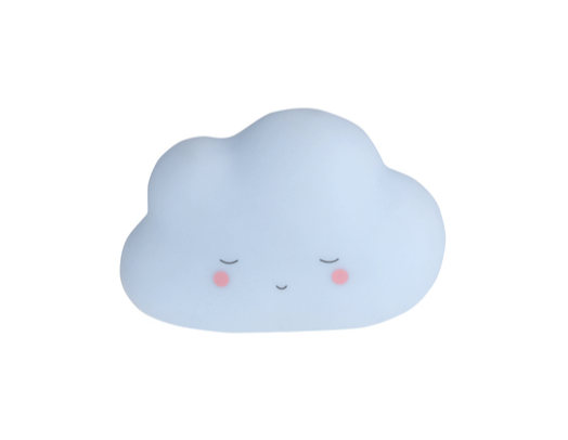 Little Dreams Little Cloud Night Light - Blue