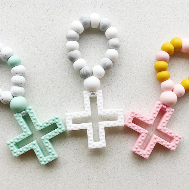 Silicone Cross Teether