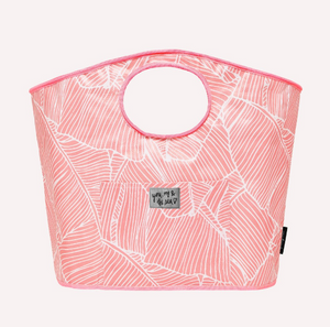 Carry All Tote - Pink Banana Leaf