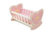 Sweetie dolly rocking cot